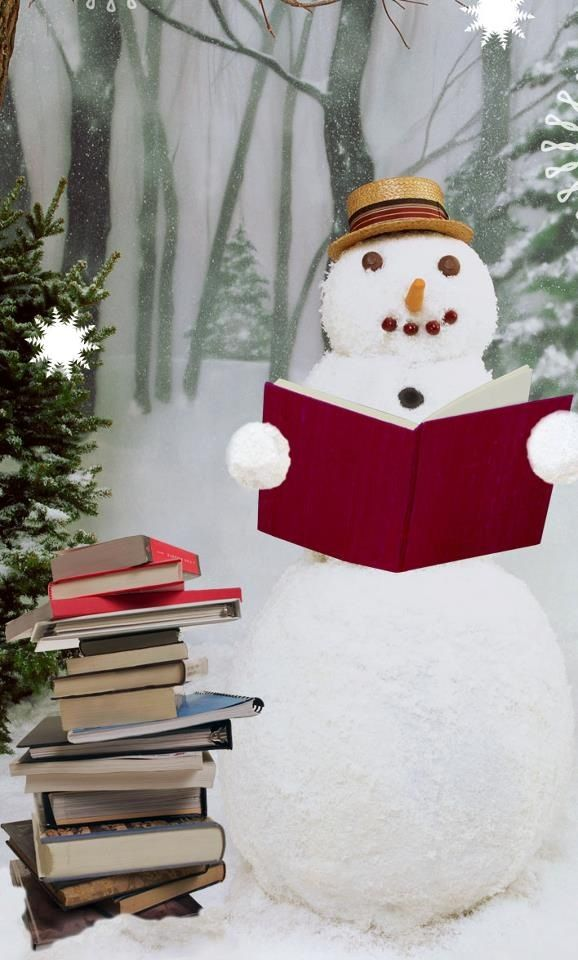 Image result for winter reading pictures