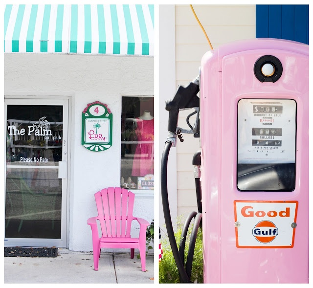 Boca Grande, Florida!  Where everything is pink and fabulous!!