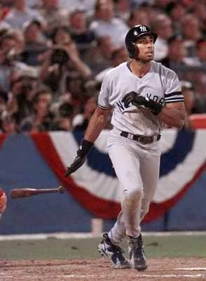Old school Yankees. Bernie Williams #51 ran like a deer playing center field on those championship teams and had a lot of big hits