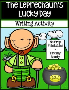 The Leprechaun's Lucky Day is a fun and engaging creative writing activity for St. Patrick's Day. The graphic organizers are scaffolded for all levels of writers, and the final draft templates are display-ready to show off the students' writing. It includes: 1 Brainstorm Graphic Organizer 1 Sensory Details Graphic Organizer 4 Paragraph Graphic Organizers 1 Primary lined 2 pg template 1 Lined 2 pg template 1 Blank 2 pg template