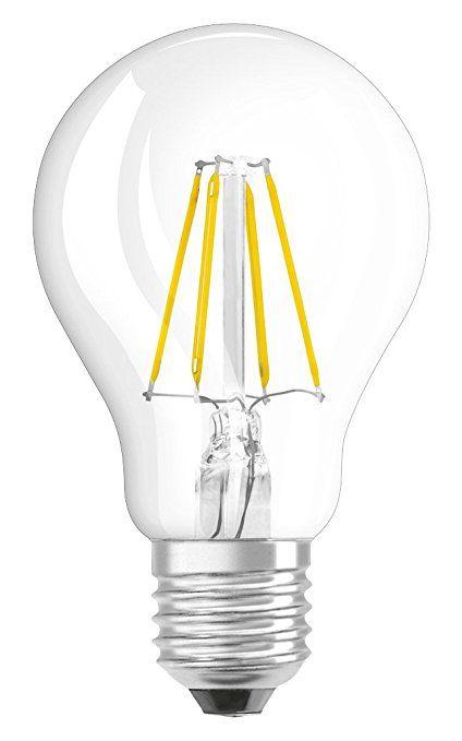 osram led lampe e27 retrofit classic a 4w 40 watt. Black Bedroom Furniture Sets. Home Design Ideas