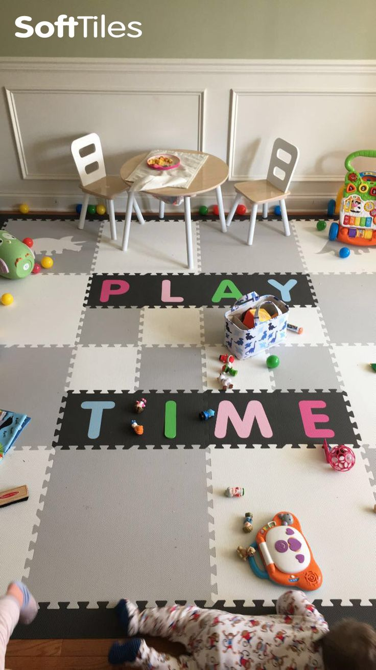 Best 25 playroom flooring ideas on pinterest playrooms baby use softtiles alphabet play mats to spell your name or favorite phrase d180 gray playroomplayroom flooringplayroom dailygadgetfo Choice Image