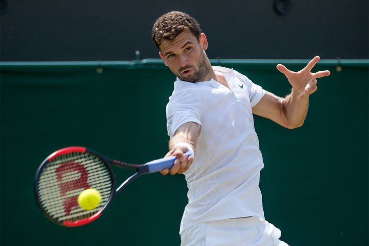 Showman Dimitrov full of tricks and flicks - The Championships, Wimbledon 2017 - Official Site by IBM