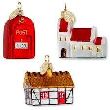 Risultati immagini per post box christmas ornaments