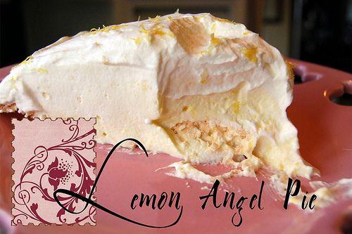 Love Lemon like Granny Wright did!Angels Pies, Homebase Mom, Food, Meringue Crusts, Lemon Angels, Lemon Pies, Gluten Free, Baking, Pies Yum