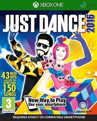 Just #dance 2016 #kinect xbox one * new #sealed pal *,  View more on the LINK: http://www.zeppy.io/product/gb/2/281867744045/