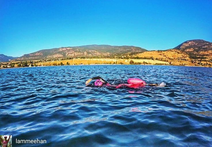 from Laura Meehan @lammeehan . . . . Clearly not in Florida anymore when there are mountains in the background. #penticton2017 . . . . #newwaveswimbuoy #usatfloridaregion #triathlon_in_the_world #triathlon #tri365 #raceday #endurancesports #enduranceathlete #swimpics #swim #openwaterswimming #canada #eh #optoutside #usatriathlon #fasterinpink #racecation #mountains #triswimpics #likeagirl #badassisbeautiful #zootsports #teamUSA #usatriathlon #ituworldtriathlon #inspiredtri
