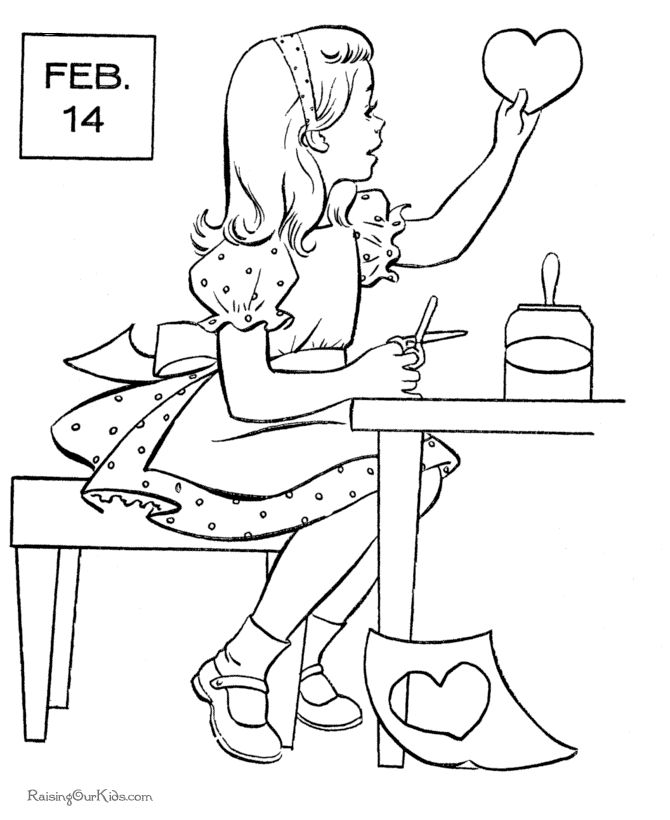 56 best valentine coloring pages images on Pinterest | Boyfriends ...