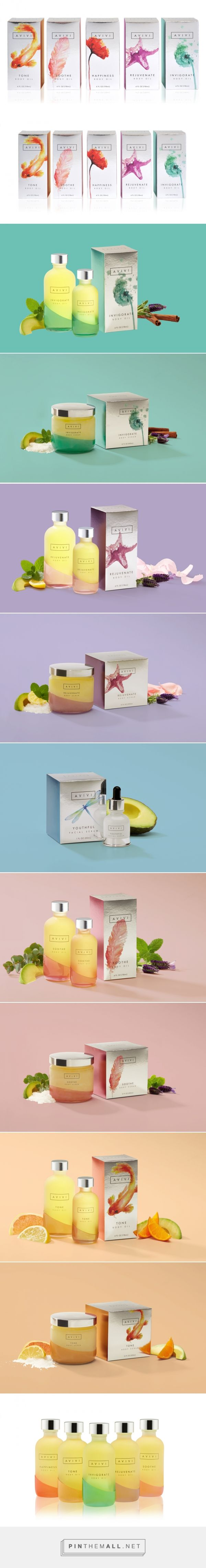 Avivi — The Dieline - Branding & Packaging... - a grouped images picture - Pin Them All