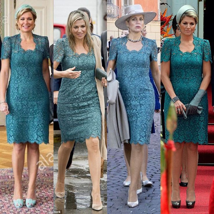 Same dress of Queen Maxima