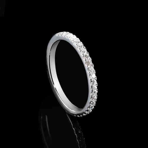 Diamond Eternity Maxi Ring - free worldwide shipping - klick to shop online ;)