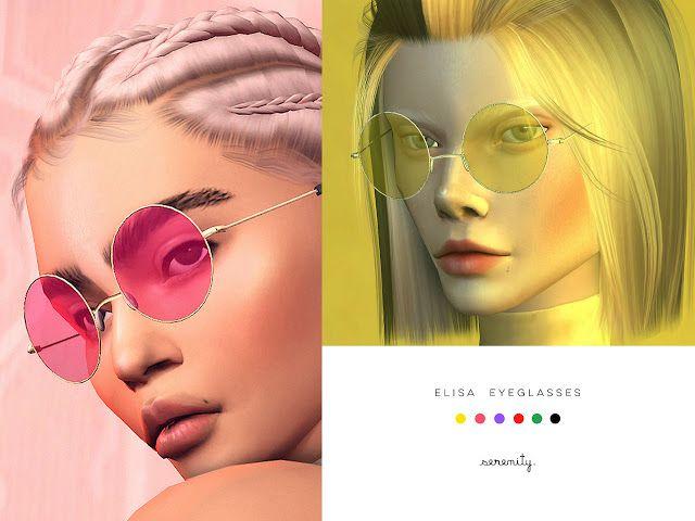 Sims 4 CC's – The Best: elisa eyeglasses by se…