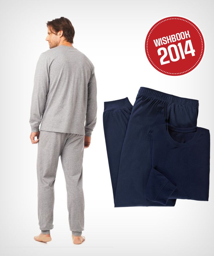 Super-soft pyjamas are perfect in winter, and all year around!