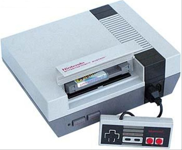 Nintendo...we played that thing all the time.  I remember blowing into the system or the game to get it to play.  Not sure if dust was a problem, but i guess we thought so!