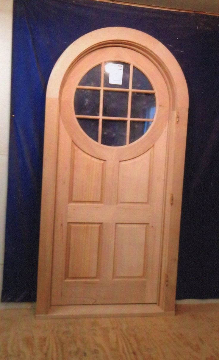 12 best arched doors images on pinterest arched doors arches and front doors for Exterior door with round window