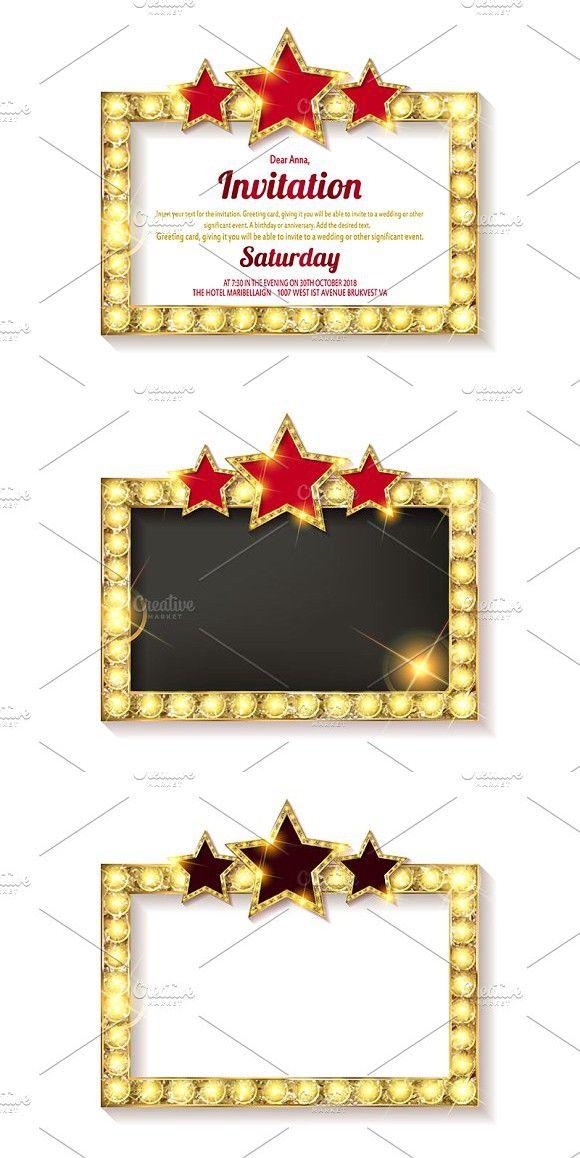 Invitation Card Template Banners Invitation Cards Invitations Cards