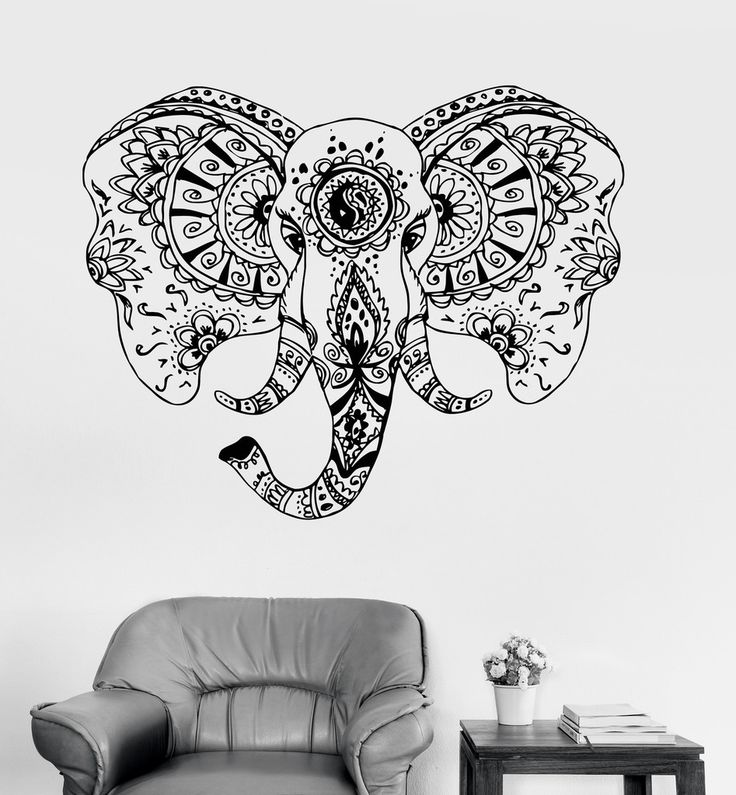 1000 ideas about tribal elephant tattoos on pinterest elephant tattoos mandala elephant and. Black Bedroom Furniture Sets. Home Design Ideas