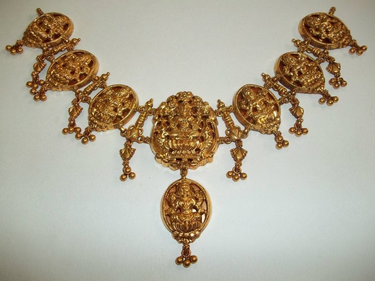 Indian Jewellery and Clothing: Vintage temple collection from Sitara jewellers