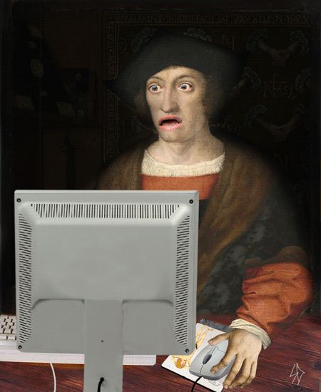 10 GIFs Of Renaissance Paintings Doing Ridiculous Things | The Creators Project