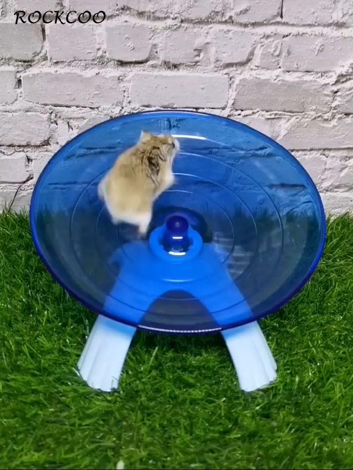 Pet Exercise Wheel Hamster Saucer