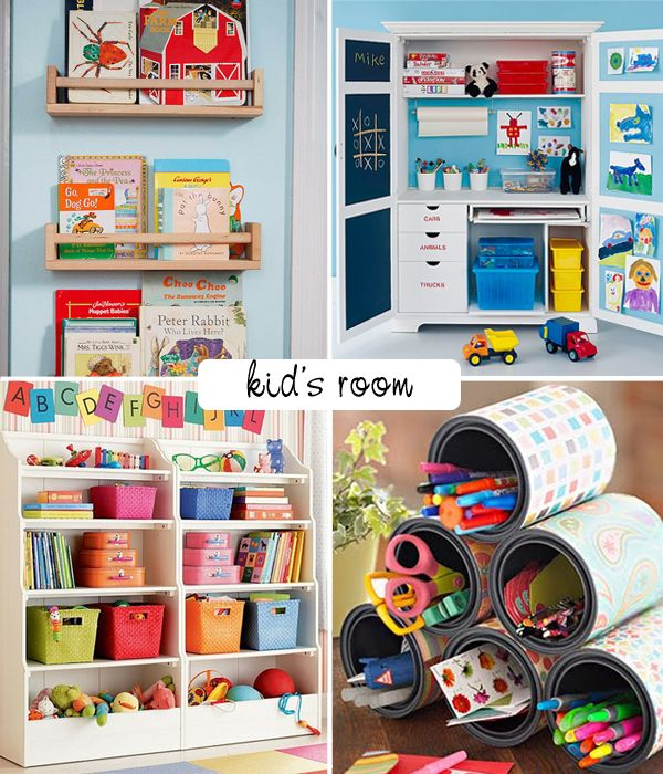 Corral The Mess In Your Child's Room! - Tips & Ideas!