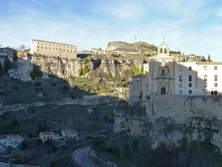 Vistas de Cuenca desde el Puente de San Pablo