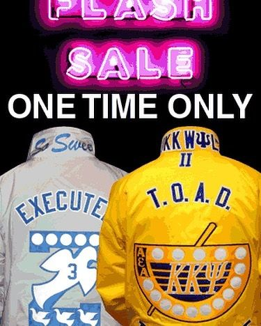 1 day only! 40% OFF our Deluxe Jacket with code SAVE40FOR24. Your yours before this deal ends...TODAY! #s4g #stuff4greeks #fraternity #sorority #greekgear #greekparaphernalia #paraphernalia #nalia #greeknalia #custom #customembroidery #embroidery #screenprinting #linejacket #crossingjacket #linejackets #crossingjackets