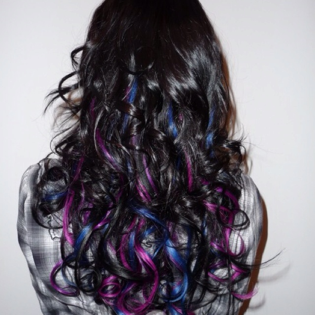 This is probably the coolest hair ever!