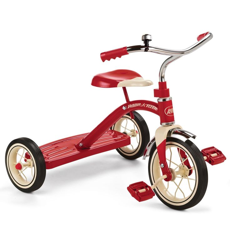 Radio Flyer Classic Red Tricycle 10-Inch