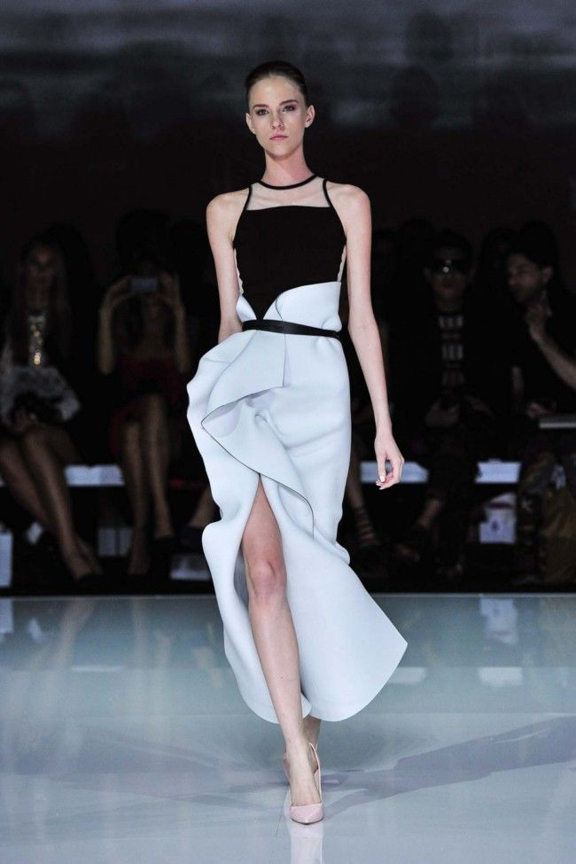 Toni Maticevski Ready-to-Wear S/S 2013/14.