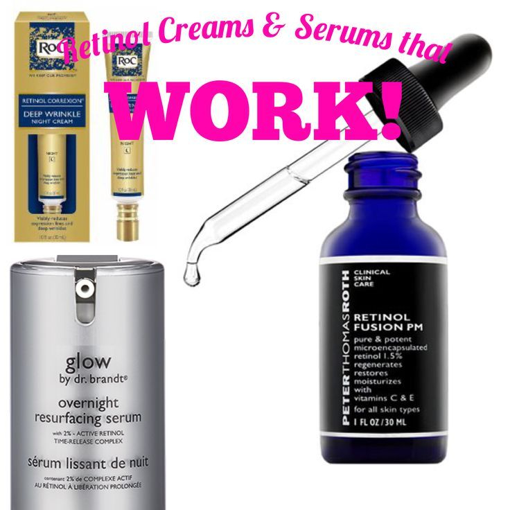 3 Retinol Creams that work! If you are Over 40 you need to see this! #skincare #retinol #over40beauty