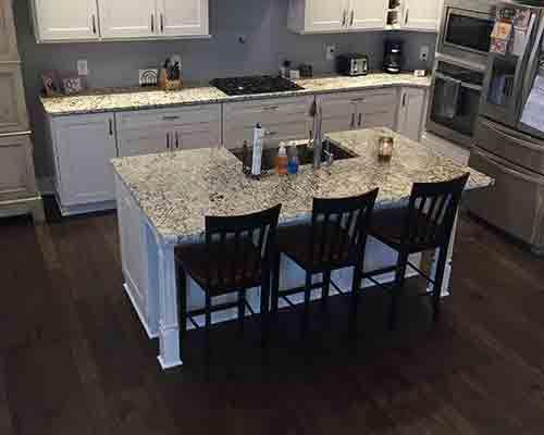 monterey gaucho hickory kitchen install canandaigua ny hickory kitchen kitchen floors and kitchens - Easy To Install Kitchen Flooring