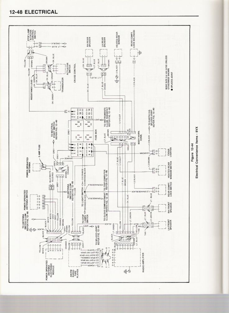 Showing The Wiring Diagram  With Images