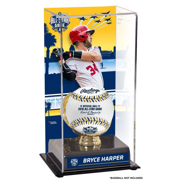 Bryce Harper Washington Nationals Fanatics Authentic 2016 MLB All-Star Game Sublimated Display Case with Gold Glove Holder - $49.99