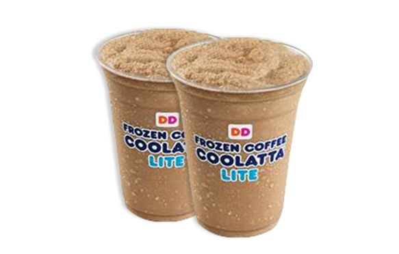NEW MENU ITEM ALERT! Dunkin Donuts is launching Coolatta Lite blended drinks! Get the scoop… plus Sriracha ketchup, new fat-burning foods, & more!