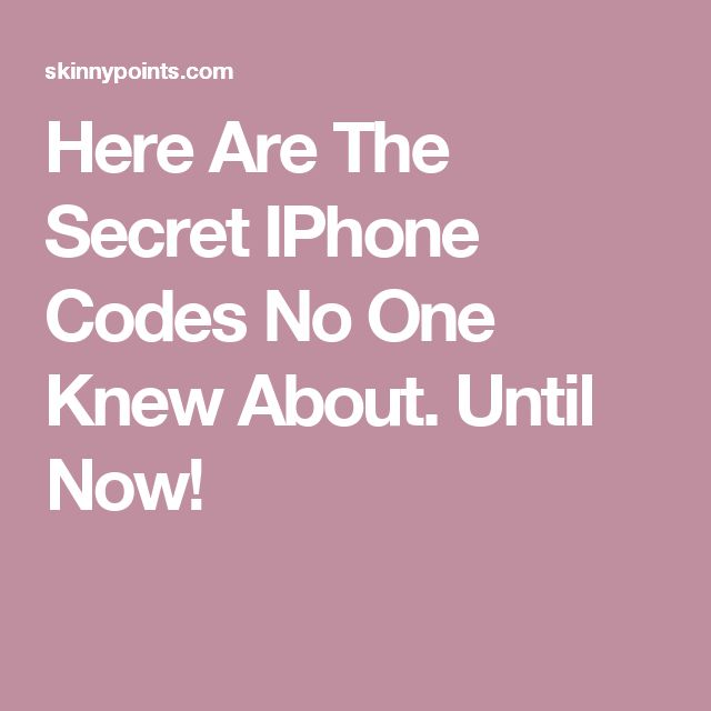 40 best encryption and codes breaking images on pinterest coding here are the secret iphone codes no one knew about until now fandeluxe Image collections