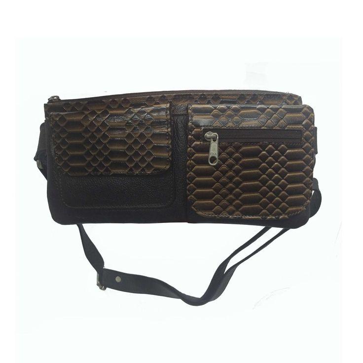 Riñonera en piel, bolsa para la cintura, riñonera de piel de vaca, leather waist bag de ColombianLeathers en Etsy