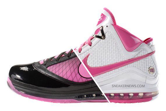 Nike Lebron James Think Pink Basketball Shoes