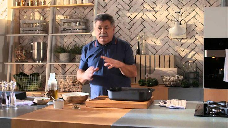 Λευτέρης Λαζάρου | Βακαλάος πλακί στο φούρνο