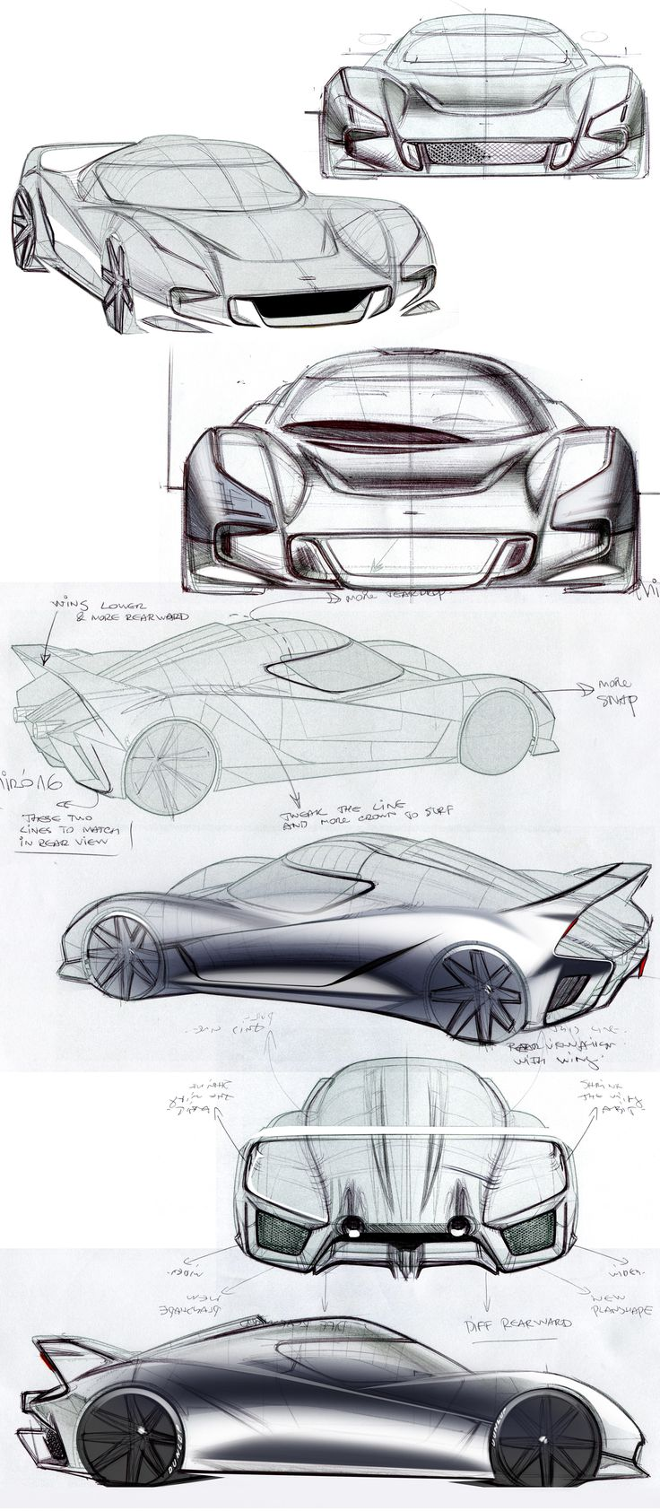 Some sketches over the Alias model Adam is building