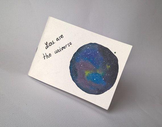 Galaxy notebook Travelers sketchbook by ArlesAtelierBooks on Etsy