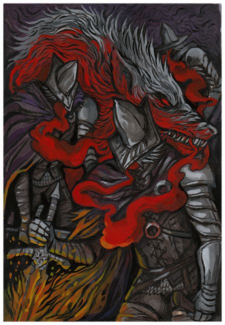 Abyss Watchers,DSIII персонажи,Dark Souls 3,Dark Souls,фэндомы,DS art
