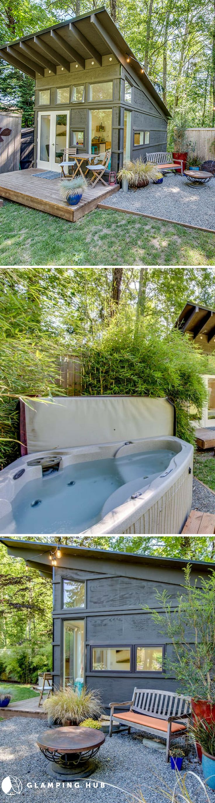 Tiny House and a Hot Tub 41