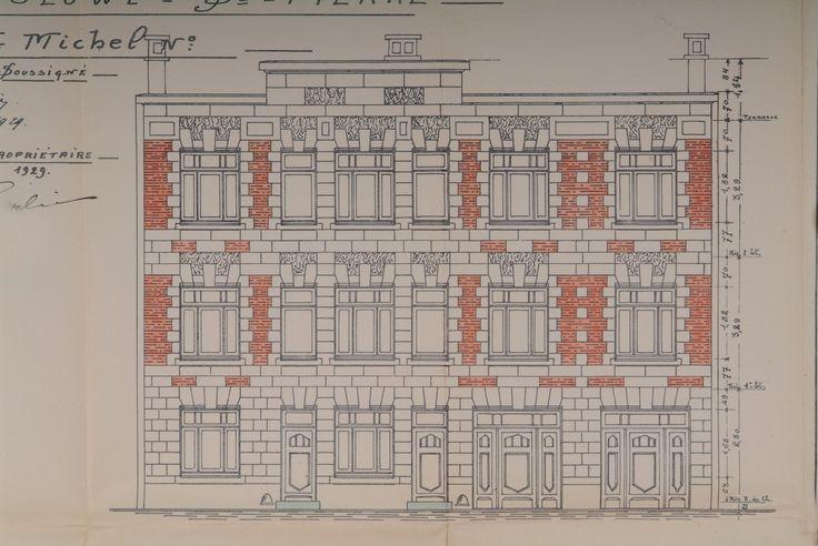 Woluwe-Saint-Pierre - Rue du Collège Saint-Michel 55-57 - DE SAULNIER Armand