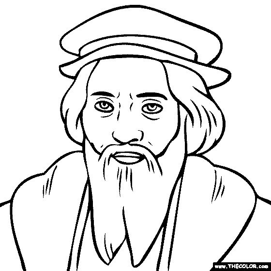 coloring pages of famous explorers - photo#22
