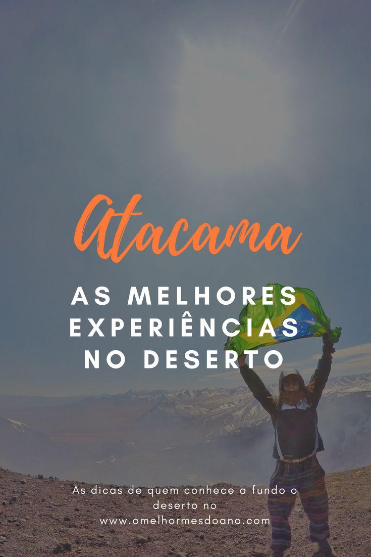 Entre vulcões (que você pode escalar!) e lagos (que você pode fotografar, nadar ou até mesmo boiar!), San Pedro de Atacama tem inúmeras opções de passeios e nesse post tem a lista dos melhores! Na foto, a escalada ao vulcão Lascar, de 5400 metros de altitude.