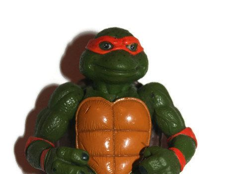 TMNT Movie Star Mike 1992 action figure vintage by TheGeekitarium