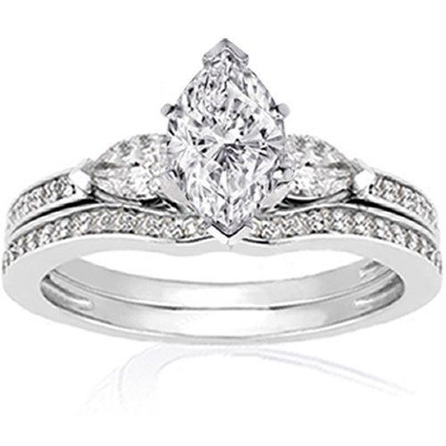 25+ best ideas about Marquise wedding rings on Pinterest | Unique ...