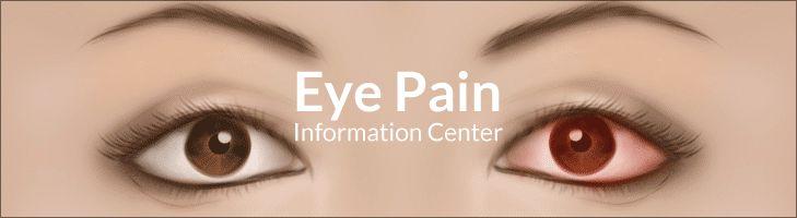 Eye Pain Information Center Read More L  http://www.epainassist.com/eye-pain