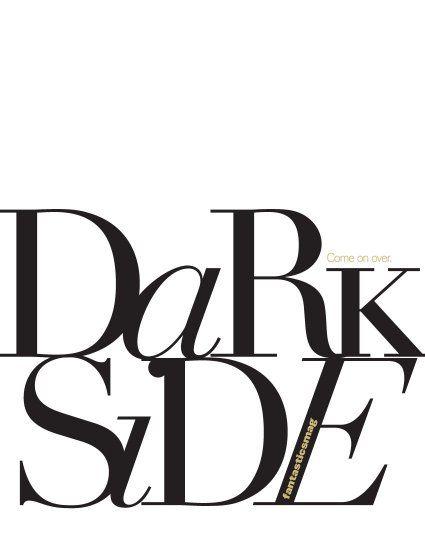 Dark Side, editorial shot by Billy Winters for Fantasticsmag _